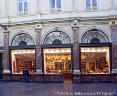 Photograph of Chocolate shop - Brussels, Belgium