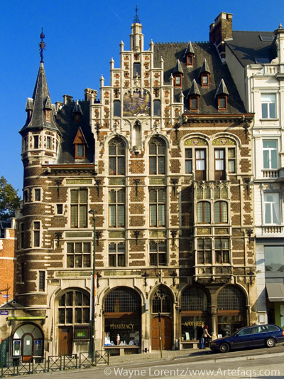 Photograph of Delacre Pharmacy - Brussels, Belgium