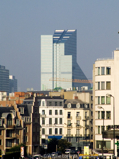 Photograph of Dexia Tower - Brussels, Belgium