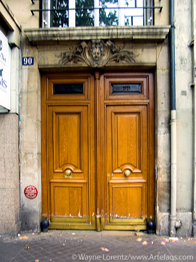 Stock photo of Door - Paris, France