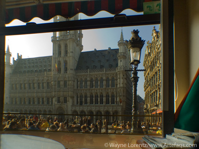 Stock photo of Grand Place - Brussels, Belgium