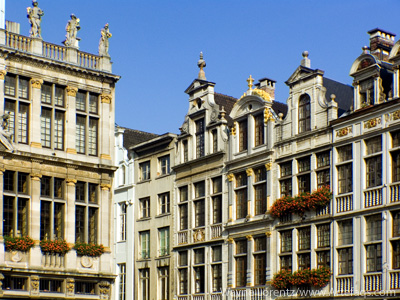 Stock photo of Guild houses - Grand Place - Brussels, Belgium