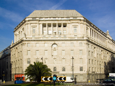 Stock photo of Imperial Chemical House - London, England