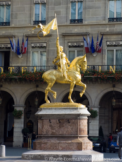 Photograph of Joan d'Arc - Paris, France