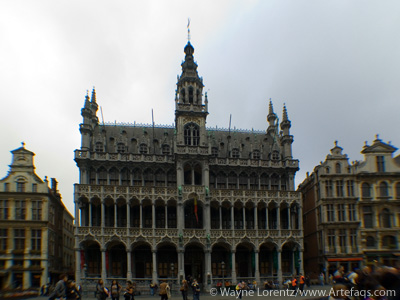 Stock photo of La Maison du Roi - Brussels, Belgium