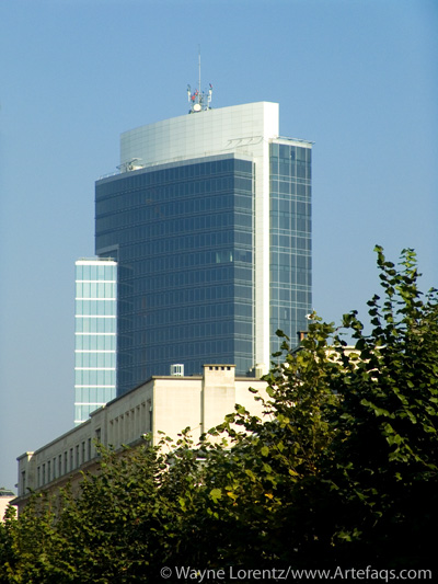Photograph of Madou Plaza - Brussels, Belgium