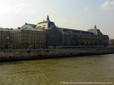 Stock photo of Musée d'Orsay - Paris, France - October, 2006
