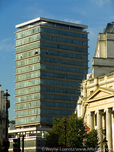 Stock photo of New Zealand House - London, England