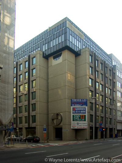 Stock photo of Rue de la Loi 75 - Brussels, Belgium