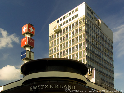Stock photo of Swiss Centre - London, England