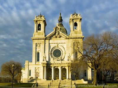 Stock photo of Basilica of Saint Mary - Minneapolis, Minnesota