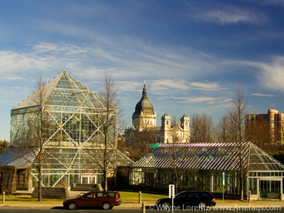 Stock photo of Cowles Conservatory - Minneapolis, Minnesota
