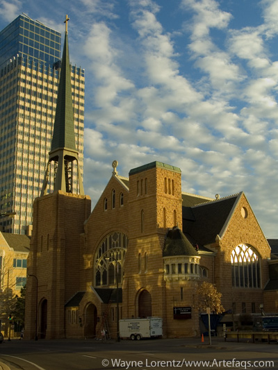 Photograph of First Baptist Church - Minneapolis, Minnesota
