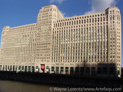 Stock photo of Merchandise Mart - Chicago, Illinois