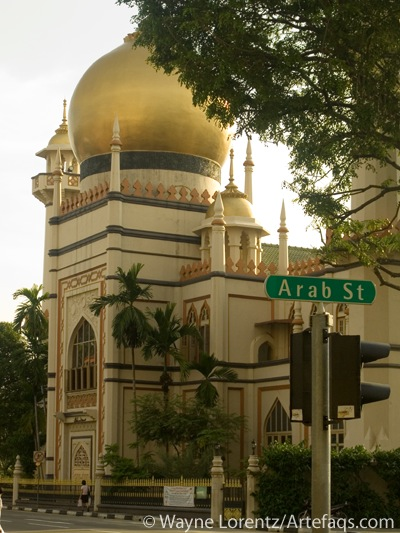 Photograph of Arab Street - Singapore