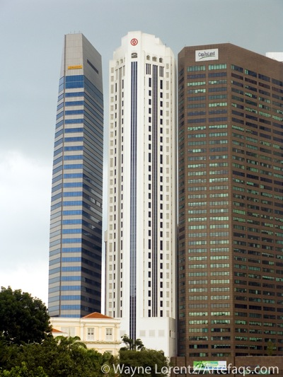 Photograph of Bank of China Building - Singapore