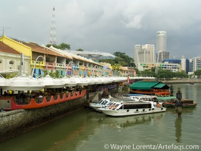 Photograph of Clarke Quay - Singapore