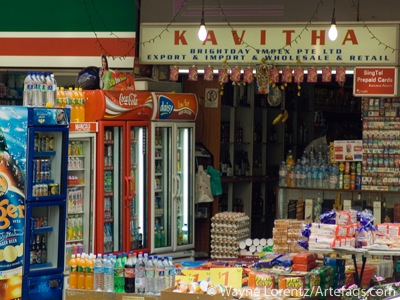 Photograph of Convenience Store - Little India - Singapore