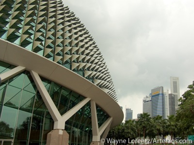 Stock photo of Esplanade - Theatres on the Bay - Singapore