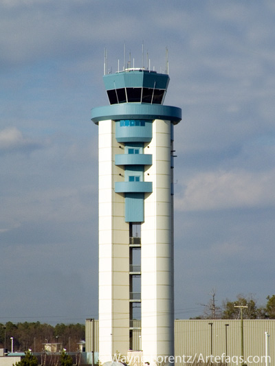 Photograph of Air traffic control tower - Richmond, Virginia