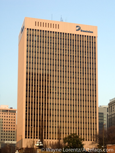 Stock photo of Dominion Building - Richmond, Virginia