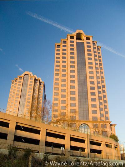 Stock photo of Riverfront Plaza - Richmond, Virginia