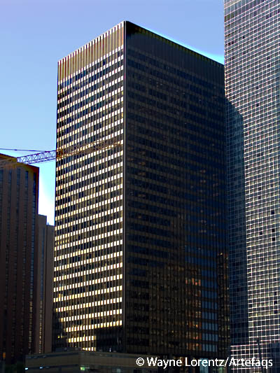 Photograph of Three Illinois Center - Chicago, Illinois