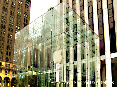 Photograph of Fifth Avenue Apple Store - New York, New York