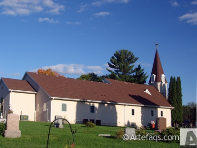 Photograph of Calvary Lutheran Church - Rush Point, Minnesota