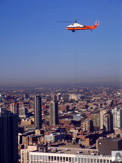 Stock photo of Helicopter - Chicago, Illinois