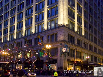 Stock photo of Macy's On State - Chicago, Illinois