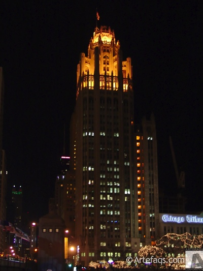 Photograph of Tribune Tower - Chicago, Illinois