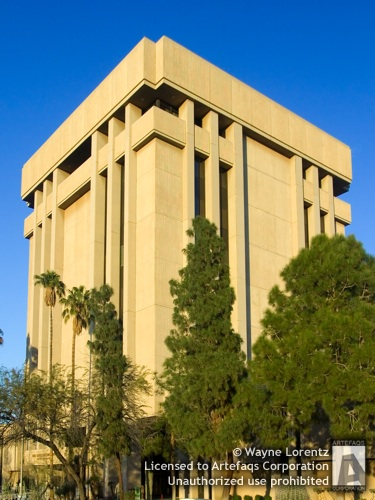 Stock photo of Arizona State Capitol Executive Tower - Phoenix, Arizona