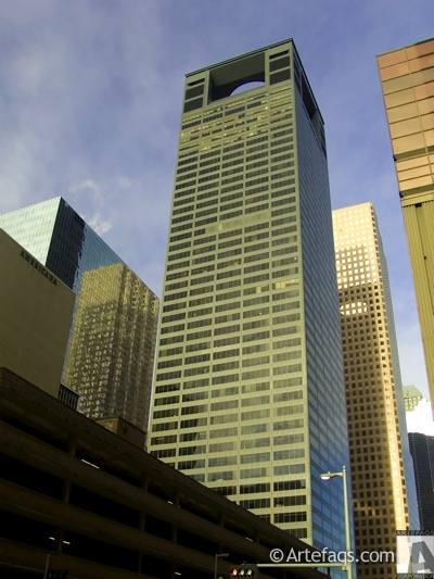 Stock photo of Centerpoint Energy Tower  - Houston, Texas