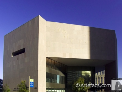 Photograph of Central Library Building  - Houston, Texas