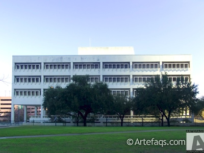 Photograph of Houston City Hall Annex  - Houston, Texas