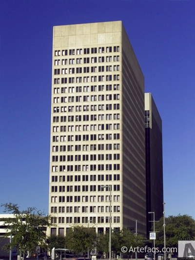 Stock photo of Continental Center II  - Houston, Texas