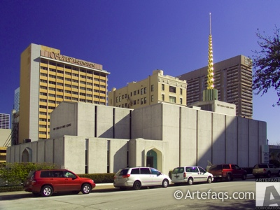 Photograph of First Church of Christ Scientist  - Houston, Texas