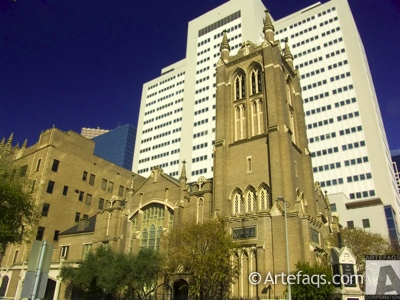 Stock photo of First United Methodist Church  - Houston, Texas
