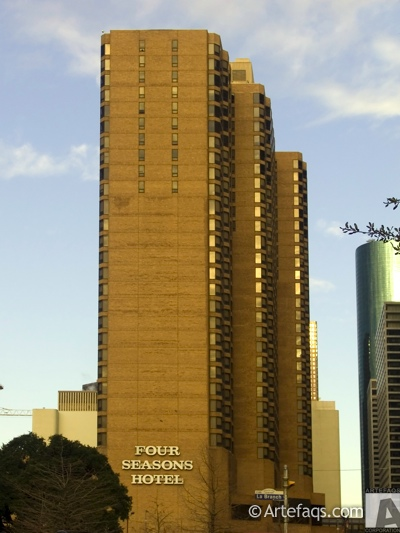 Stock photo of Four Seasons Hotel  - Houston, Texas