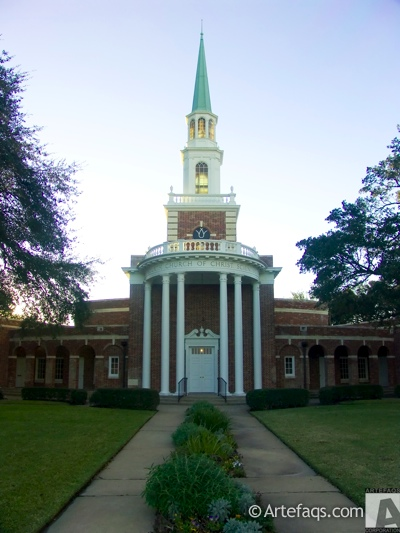 Photograph of Fourth Church of Christ Scientist  - Houston, Texas