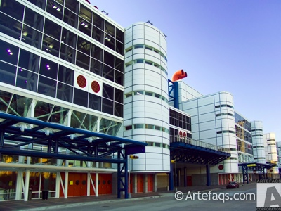 Stock photo of George R. Brown Convention Center  - Houston, Texas
