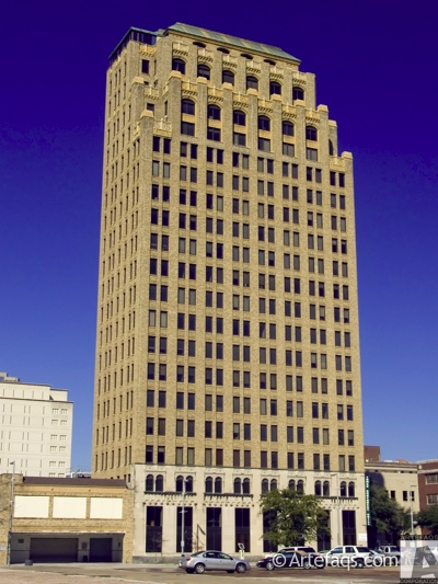 Stock photo of Great Southwest Life Building  - Houston, Texas