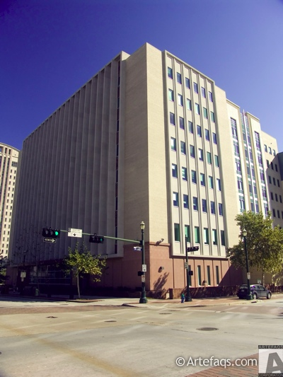 Stock photo of Harris County Juvenile Justice Center  - Houston, Texas