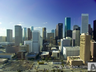 Stock photo of Houston, Texas