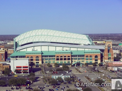 Photograph of Minute Maid Park  - Houston, Texas
