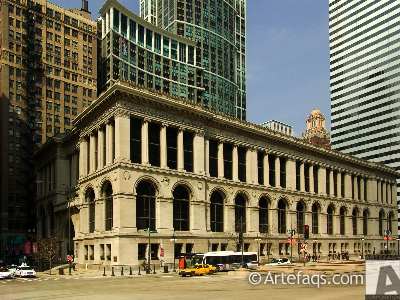 Stock photo of Chicago Cultural Center - Chicago, Illinois