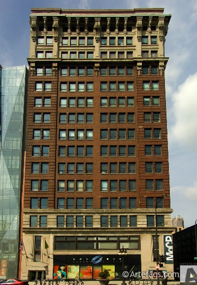 Photograph of Main Building - Columbia College - Chicago, Illinois