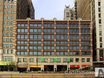 Photograph of Smith, Gaylord, and Cross Building - Chicago, Illinois