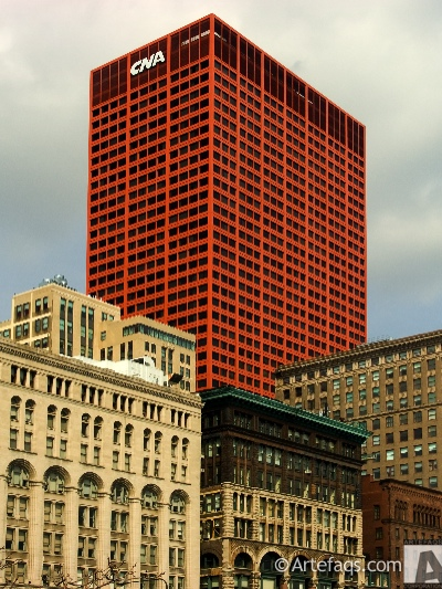 Photograph of CNA Building - Chicago, Illinois